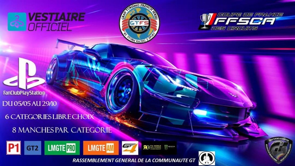 Gran Turismo French Series - championnat GT